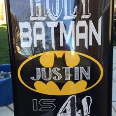 Justins 4th Party - Batman