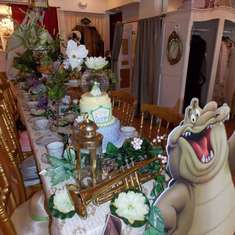 Princess and the Frog Tea Party - PRINCESS AND THE FROG