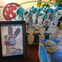 Smurfday party!! - Smurfs