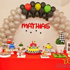First birthday of Mathias - Disney Cars