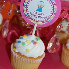 Sweet First Candy Shoppe birthday - Candy Land