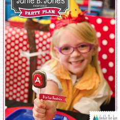 Junie B. Jones Birthday Back to School Party - Junie B. Jones