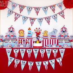 Circus carnival Birthday party - Vintage Circus