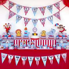 Circus Carnival Baby Shower - Circus/Carnival