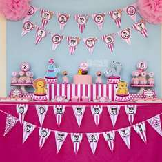 Pink Circus carnival Birthday party - Circus/Carnival