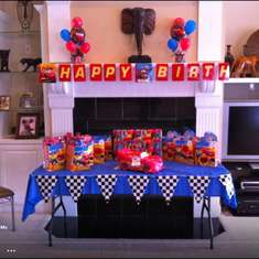 Darion 5th Birthday - Disney Cars 2