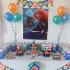 Sofía´s Birthday - Brave/ Merida