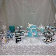 Tiffany&cobabyshower  - Tiffany Blue