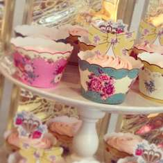 La Petite Boutique Princess Tea Party Photoshoot - Vintage Tea