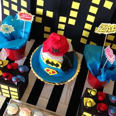 6th birthday - Super Heroes