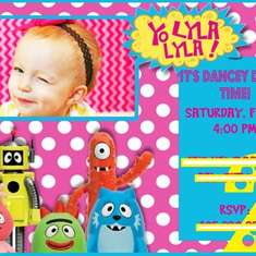 Lyla's 2nd Birthday! - Yo Gabba Gabba