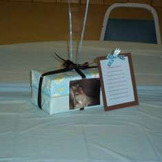 It's a boy baby shower - Blue and Brown