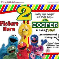 Sesame Street 2nd Birthday Party - Sesame Street