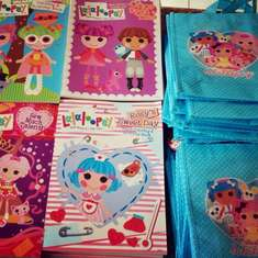 Bella's lalaloopsy land party - LalaLoopsy