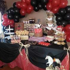 Gabriella's Cowgirl party! - Western Cowgirl