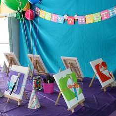 Painting Birthday Party - Art/Painting