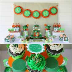 St Patrick's Day Dessert Table - St. Patrick's Day
