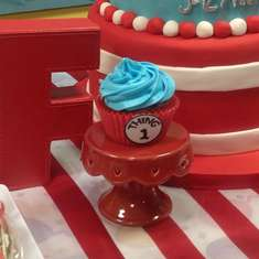 Dr Seuss 1st Birthday - Dr Seuss