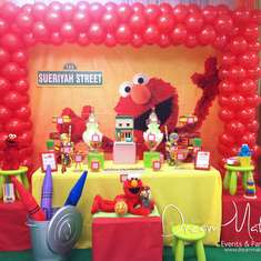 Elmo 1st Birthday Party - Elmo & Sesame Street