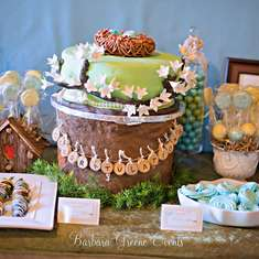 Nest Baby Shower - Birds/Nest