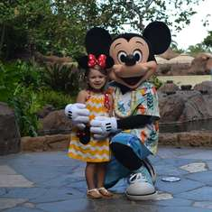 Georgia's Mickey and Minnie Party - Mickey and Minnie Mouse