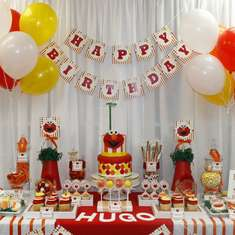 Hugo's 1st Birthday - Elmo