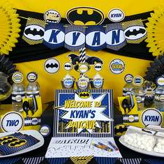 Batman Birthday - Super Heroes:  Batman
