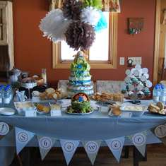 Oh Boy! Baby Shower - Baby Boy