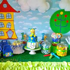 "AJ's ""Henry Hugglemonster"" 1st Birthday Party - Henry Hugglemonster"