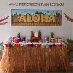 Hailee's Hawaiian Birthday Party - Hawaiian