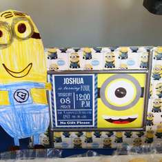 Minion 4th Birthday - Despicable Me