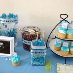 Fem's Baby Shower - Baby Blue