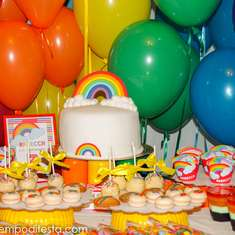 Rebecca's rainbow party - Rainbow Party