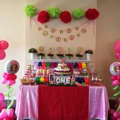 Carly's 1st Birthday - Strawberry Shortcake