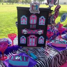 Monster High birthday party - Monster High