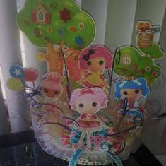 Lalaloopsy Birthaday Cake Topper - None