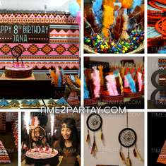 Native American {Indian} Birthday Party - Native American