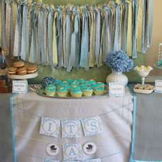 Vintage Baby Carriage Baby Shower - Baby Carriage