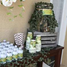 Army Camouflage Birthday Party - Army/Camouflage