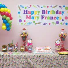 Ice Cream and Candy Birthday Celebration - Ice Cream/ Candy