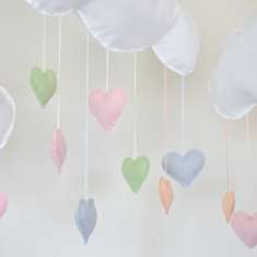 Rainbow Clouds Birthday Party - Rainbow, Clouds & craft