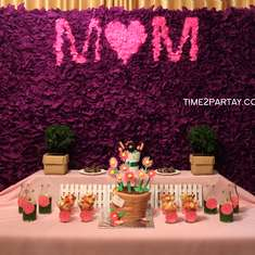A Spring Themed Mother's Day Party - Spring, flowers