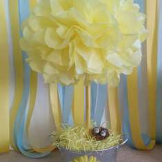Nadine & Kevin's Baby Shower - Blue and Yellow