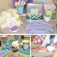 Corley Designs - Let's Bake Party - Baking