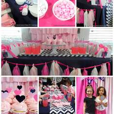 Preppy Pink and Navy Girl Scouts Party - Spa + Beauty