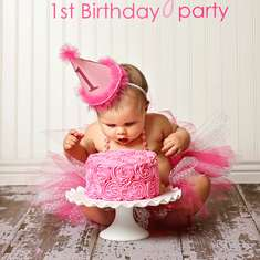 Pretty in Pink 1st Birthday Party - Pretty In Pink