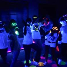 Glow In The Dark Dance Party - glow in the dark