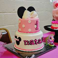 "Natalie's ""Very Minnie"" 1st Birthday Party - Minnie Mouse and Zebra Print"