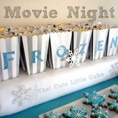 Disney Frozen Movie Night - Disney Frozen
