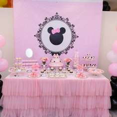 Claire and Chloe's 1st Birthday - Minnie Mouse